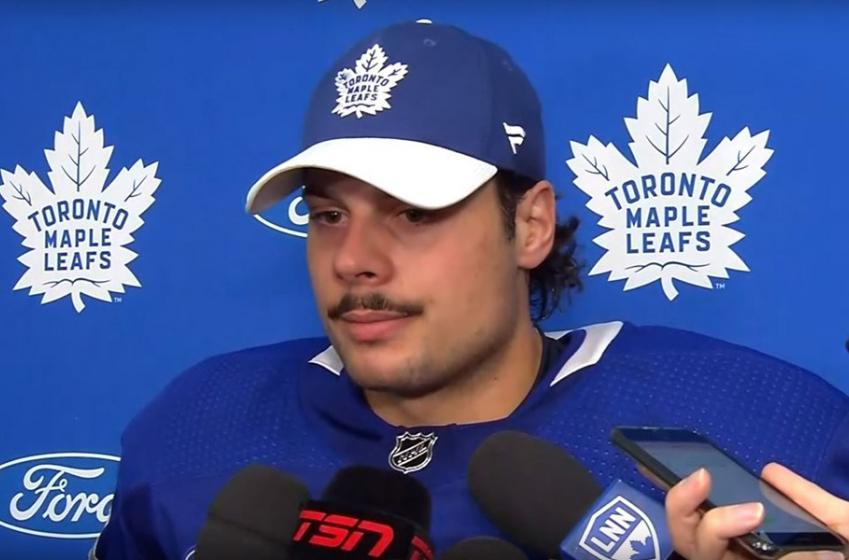 Maple Leafs force media to erase the news of Matthews' coronavirus diagnosis?!