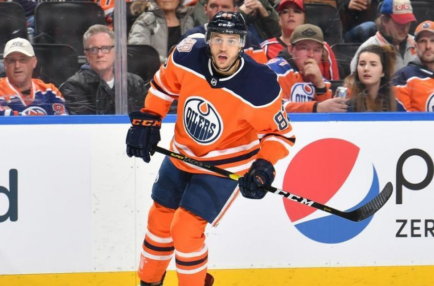 "Oilers Caleb Jones ""unfit to practice."""