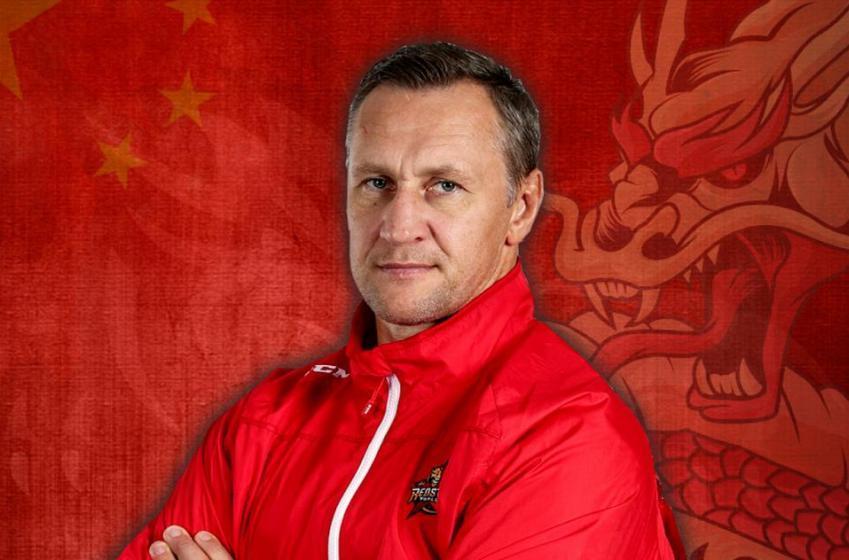 Alexei Kovalev begins his career as a head coach.
