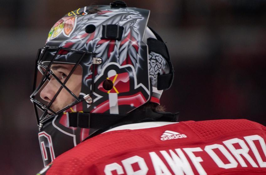 Two huge updates on Blackhawks goaltender Corey Crawford.
