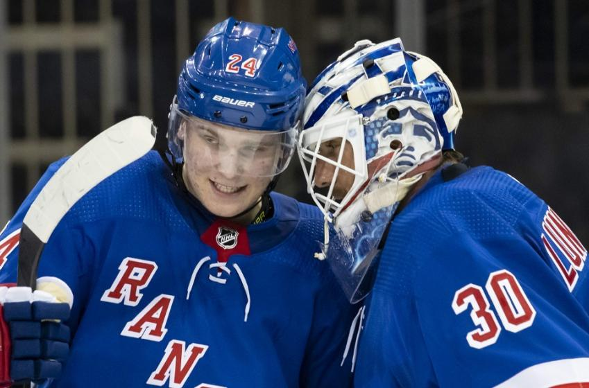 Rangers name their starting goaltender for Game 2.
