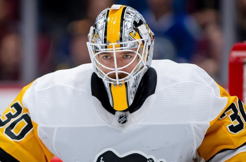 Penguins name their starting goaltender for Game 2.
