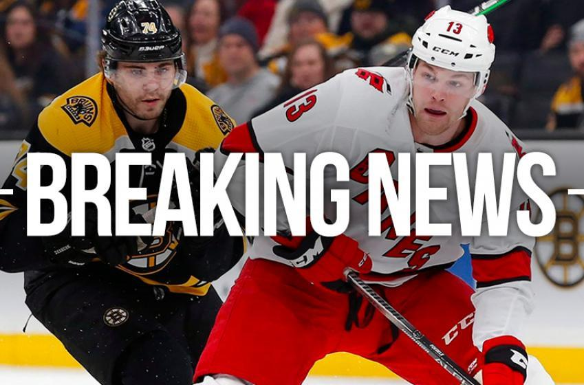 NHL postpones Bruins and Hurricanes Game 1 until tomorrow morning