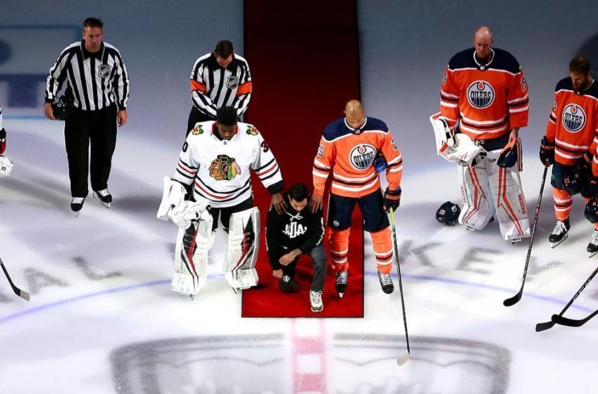 Hockey Diversity Alliance releases a list of demands.