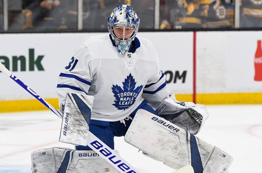 At least one team has interest in Maple Leafs goalie Frederik Andersen.