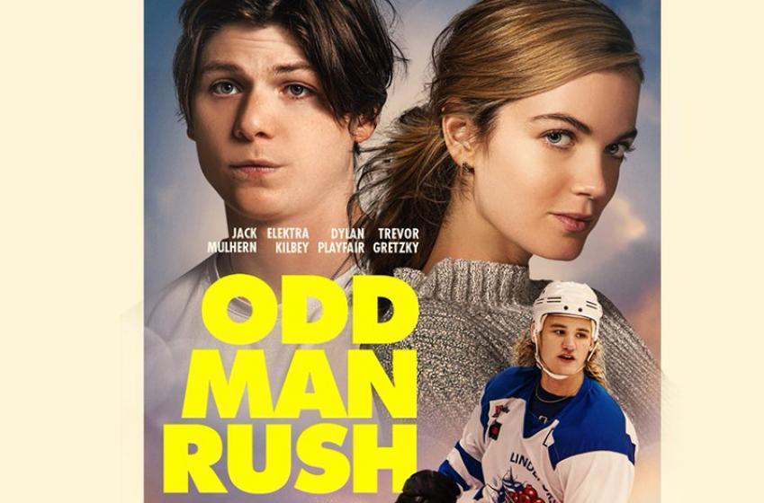 Gretzky's and Lemieux's children create hockey comedy movie called 'Odd Man Rush'