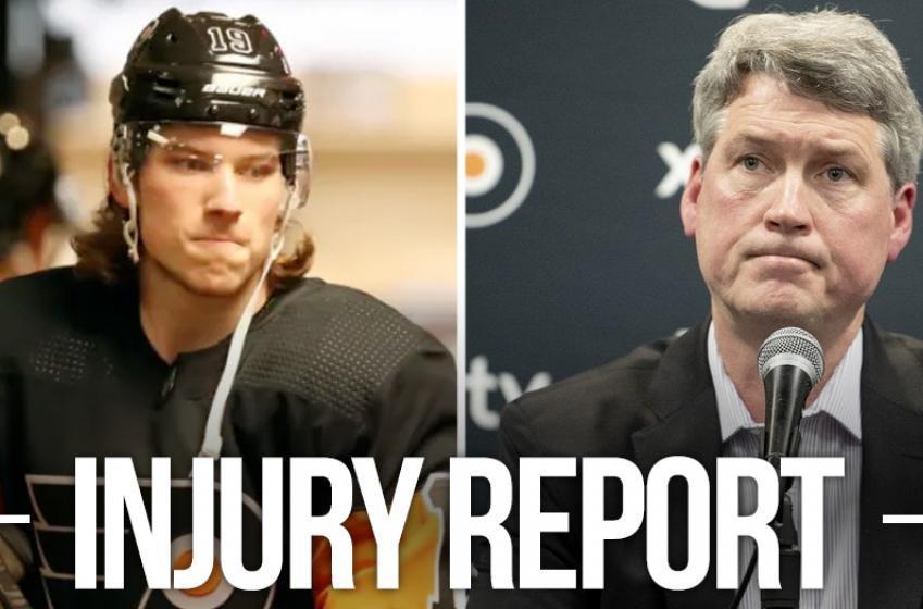 Flyers GM Chuck Fletcher provides a heartbreaking update on Nolan Patrick