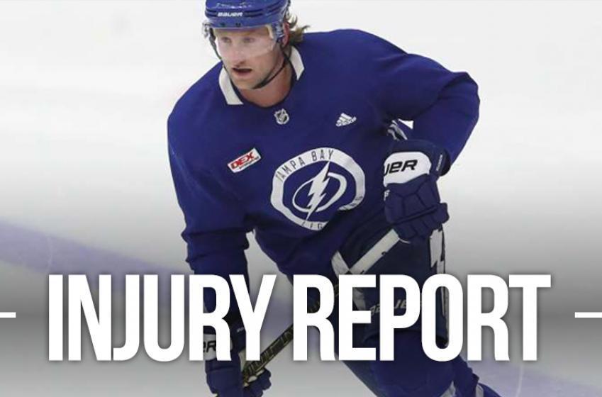 Report: Stamkos returns to practice
