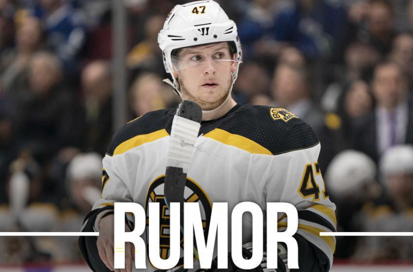 Report: Bruins make a list ditch effort to retain Krug