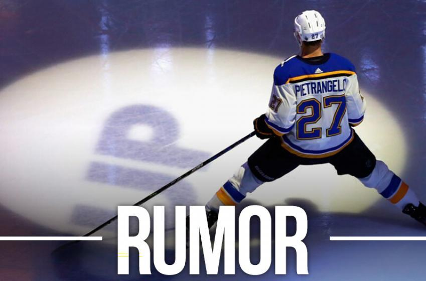 Report: Talks break off between Pietrangelo and Blues