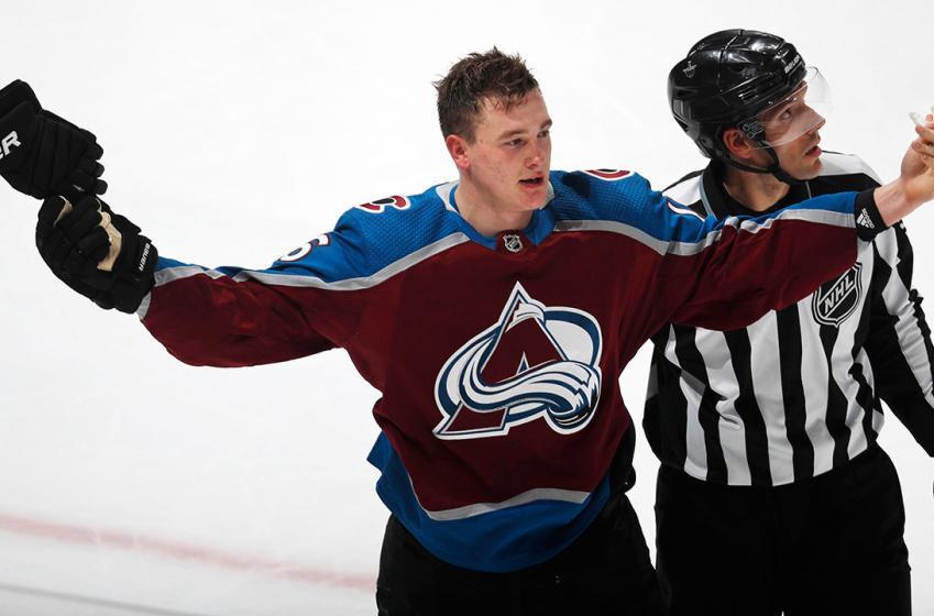 Nikita Zadorov takes a dig at his old team