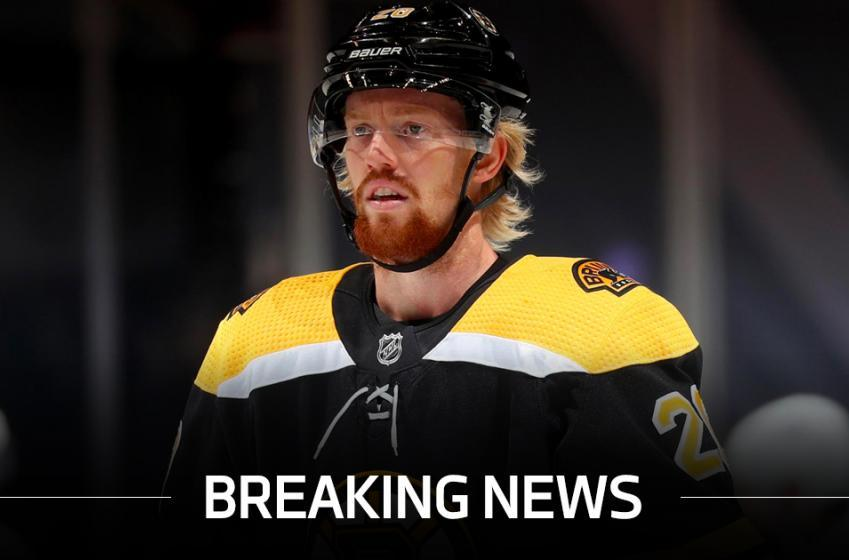 Former Bruins forward Joakim Nordstrom has a new NHL home