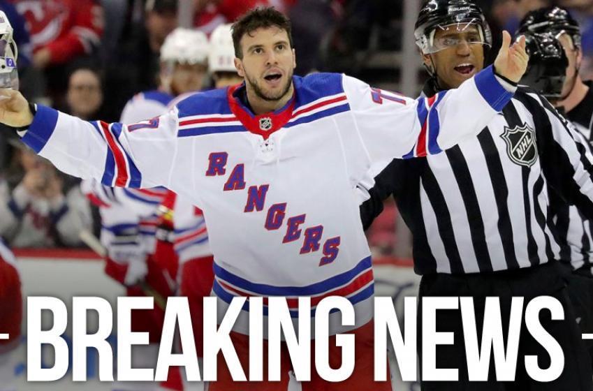 Rumor: Rangers shut down Tony DeAngelo's Twitter account