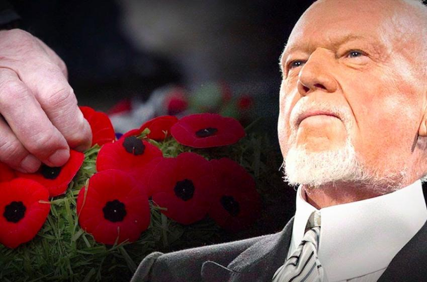 Don Cherry resurfaces in the hockey world yesterday on Remembrance Day / Veterans Day