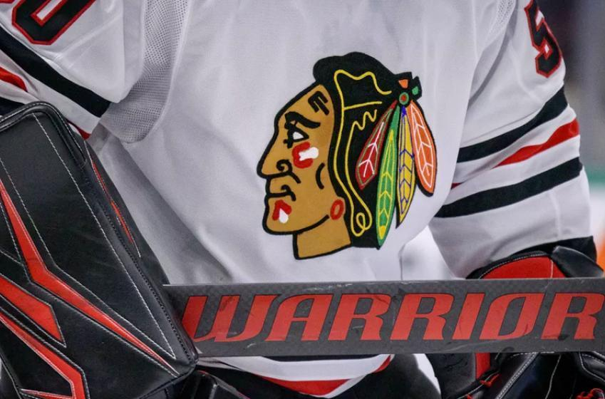 CBC censors the Blackhawks name and logo