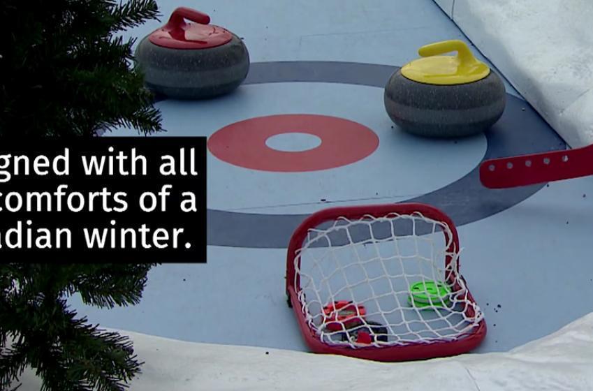 Check out Frozen Fairways an incredible hockey-themed mini-golf course in Calgary