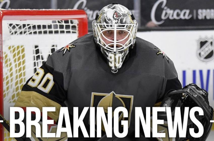 Vegas sends Robin Lehner to AHL's Henderson Silver Knights